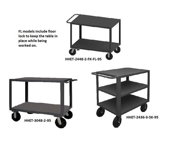 HEAVY DUTY PORTABLE TABLES