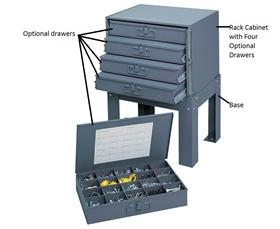 DRAWERS FOR LARGE AND SMALL COMPARTMENT BOXES