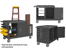 MOBILE WIRE SPOOL AND MAINTENANCE CART