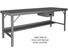 OPTIONAL SHELVES FOR ERGONOMIC WORKBENCHES